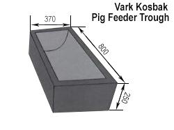 Pig Feeder Trough